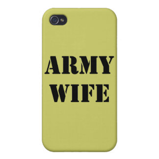 Army Wife iPhone 4/4S Case
