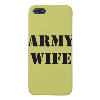 Army Wife Cover For iPhone 5