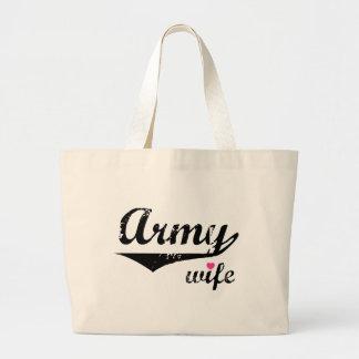 Army Wife Jumbo Tote Bag