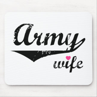 Army Wife Mouse Mat