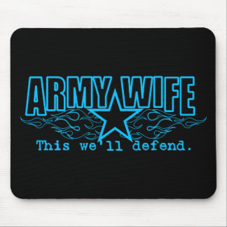 Army Wife: Mouse Pad
