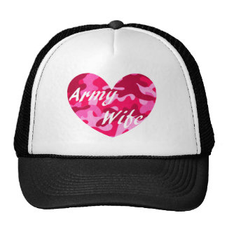 Army Wife Pink Camo Hat