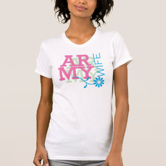 Army Wife - Pink T-Shirt