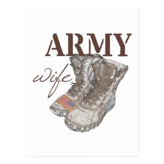 Army Wife Postcards