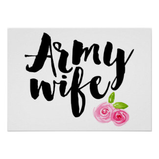 Army Wife Poster
