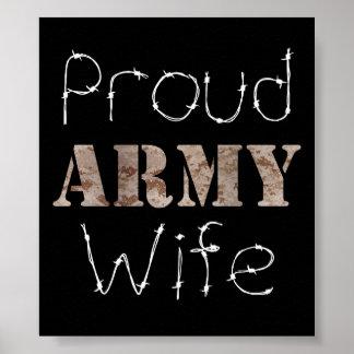Army Wife Print