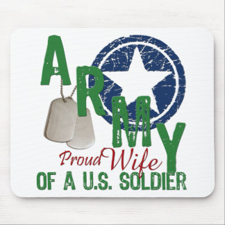 Army Wife - Proud Mouse Pad