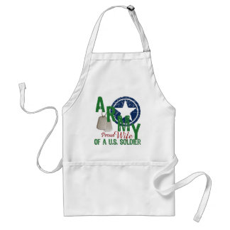 Army Wife - Proud Standard Apron