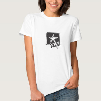 Army Wife Rank Tee Shirt