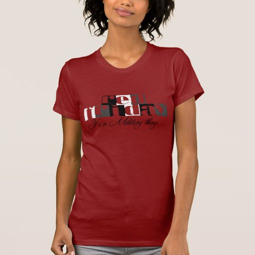 Army Wife Red Friday Shirt