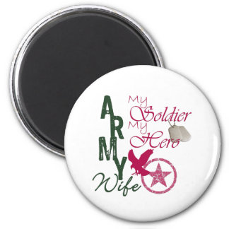 Army Wife - Soldier 6 Cm Round Magnet