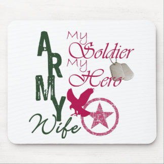 Army Wife - Soldier Mouse Pad