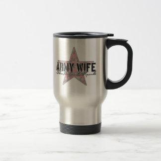 Army Wife The Silent Rank Travel Mug