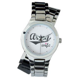 Army Wife Wrist Watch