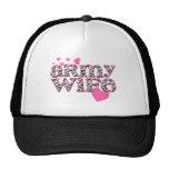 Army Wife [zebra print] Cap
