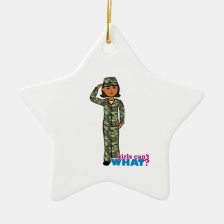 Army Woodland Camo Dark.png Christmas Ornament