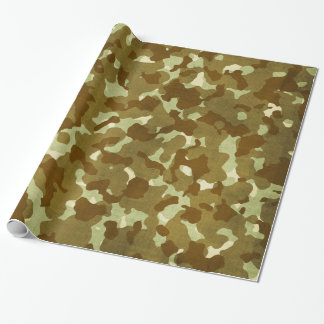 army wrapping paper