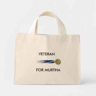ArmyBanner, VETERAN, FOR MURTHA Tote Bags