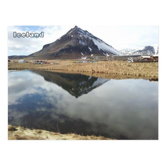 Arnarstapi and Mt. Stapafell, Iceland Postcard
