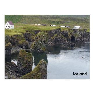 Arnarstapi, Western Coast, Iceland Postcard