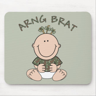 ARNG Brat (Girl) Mouse Pad