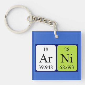 Arni periodic table name keyring