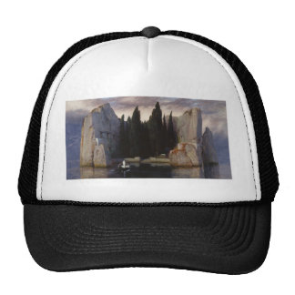 Arnold Böcklin - The Isle of the Dead Cap