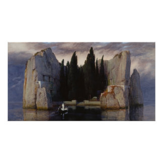 Arnold Böcklin - The Isle of the Dead Poster