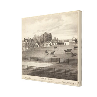 Arnold House, Point Pleasant, NJ Canvas Print