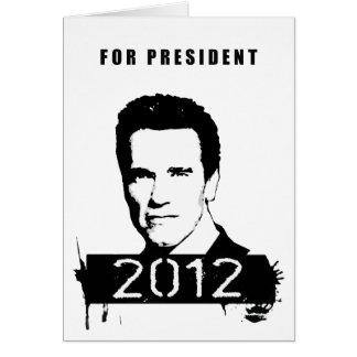 Arnold Schwarzenegger 2012 Cards
