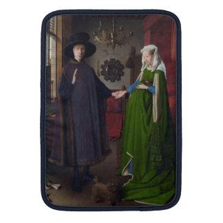 Arnolfini Portrait - Jan van Eyck Sleeves For MacBook Air