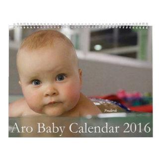 Aro Baby Calendar 2016