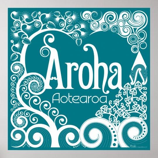 Aroha Aotearoa Poster