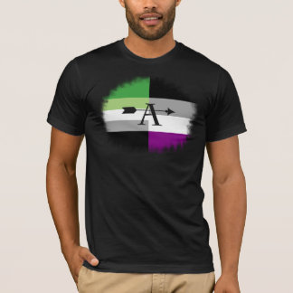 Aromantic Asexual Aro Ace Shirt