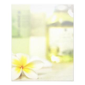 Aromatherapy Spa Skin Care Massage Salon 11.5 Cm X 14 Cm Flyer