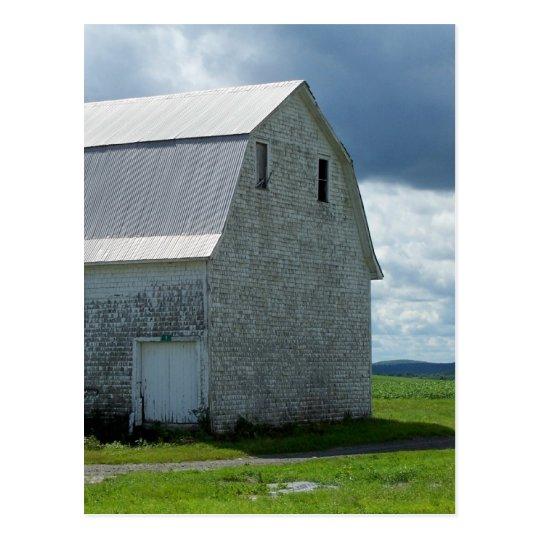 Aroostook Barn Postcard