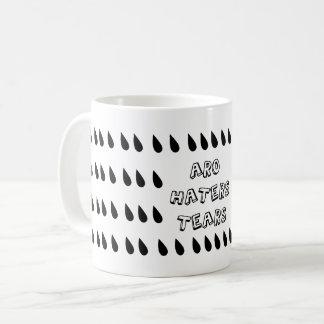 Arorromantic Haters Tears Coffee Mug
