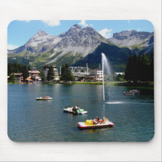 Arosa in Switzerland Mouse Mat