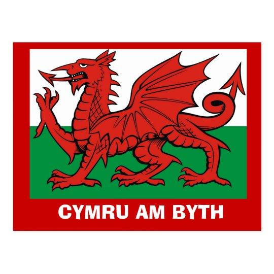Around Britain, Flag of Wales, Cymru am byth