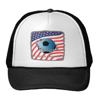 around the ball trucker hats