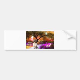 around the bend_Painting.jpg Bumper Sticker