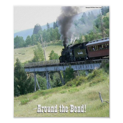 Around the Bend Poster