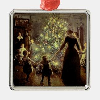 Around the Christmas Tree Christmas Ornament