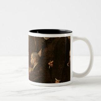 Around the Piano, 1885 Two-Tone Coffee Mug