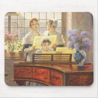 Around the Piano Mouse Mat