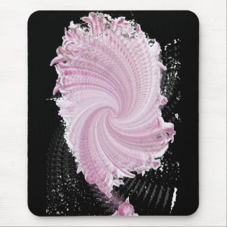 around the pink mouse mat