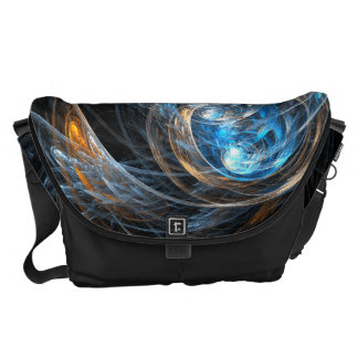 Around the World Abstract Art Large Bag Commuter Bag
