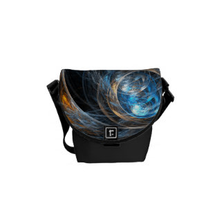 Around the World Abstract Art Mini Bag Commuter Bags