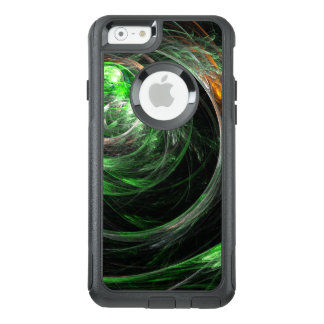 Around the World Green Abstract Art Commuter OtterBox iPhone 6/6s Case