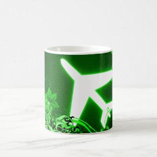 around the world : hi-fi plane coffee mugs